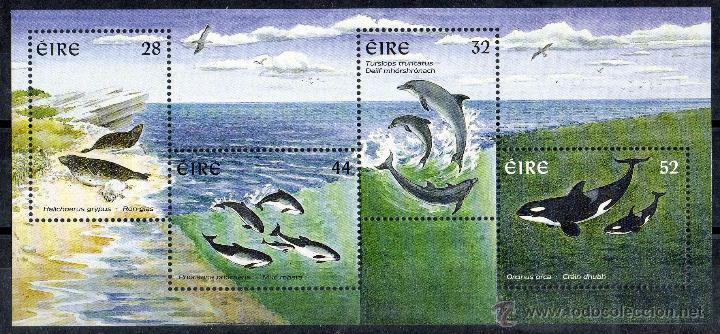 IRLANDA AÑO 1997 YV HB 22*** CETÁCEOS Y MAMÍFEROS MARINOS - FAUNA (Sellos - Extranjero - Europa - Irlanda)