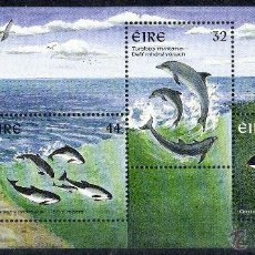 Sellos: IRLANDA AÑO 1997 YV HB 22*** CETÁCEOS Y MAMÍFEROS MARINOS - FAUNA. Lote 42012813