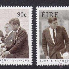 Sellos: IRLANDA 2013. JOHN F. KENNEDY. Lote 42424454