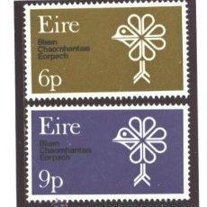 Sellos: IRLANDA 1970 - YVERT NRO. 239-40 - NUEVOS. Lote 193855977