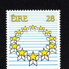 Sellos: IRLANDA 684** - AÑO 1989 - ELECCIONES AL PARLAMENTO EUROPEO. Lote 44278732