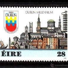 Sellos: IRLANDA 645** - AÑO 1988 - MILENARIO DE DUBLIN. Lote 45155572