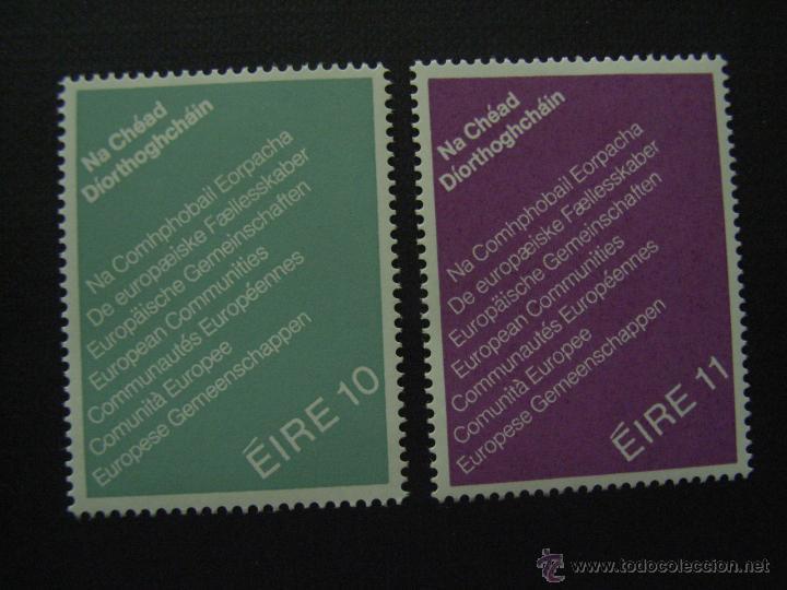 IRLANDA Nº YVERT 396/7 *** AÑO 1979. PRIMERAS ELECCIONES AL PARLAMENTO EUROPEO (Sellos - Extranjero - Europa - Irlanda)