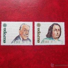 Sellos: IRLANDA 1985, YVERT 566-67, MNH-SC. Lote 47780603