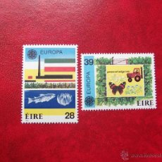 Timbres: IRLANDA 1986, YVERT 592-93, MNH-SC. Lote 47780618