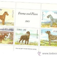 Sellos: IRLANDA ** & FAUNA E FLORA 1983 KOIRAT 1983. Lote 48406327