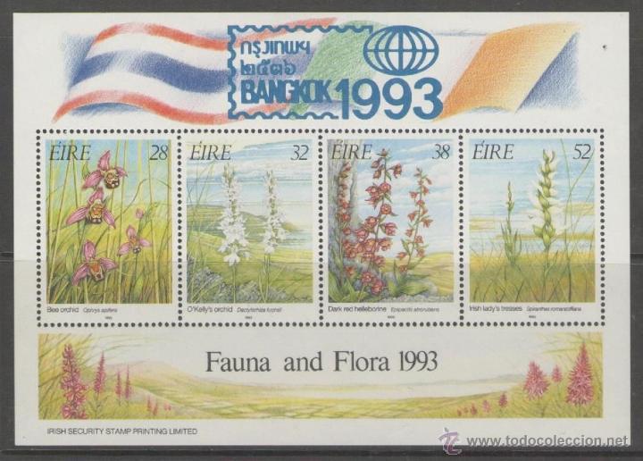 IRLANDA 1993 HB 13 BANKOK 93 FLORA Y FAUNA NUEVO LUJO MNH *** SC (Sellos - Extranjero - Europa - Irlanda)