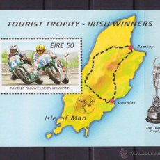 Sellos: IRLANDA 1996 GANADORES IRLANDESES MOTOS MOTO HB MOTOCICLISMO NUEVO LUJO MNH *** SC. Lote 49570466