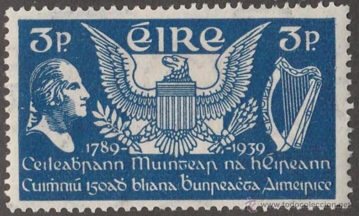 IRLANDA 1939 ANIVERSARIO CONSTITUCION USA EN NUEVO LUJO MNH *** SC (Sellos - Extranjero - Europa - Irlanda)
