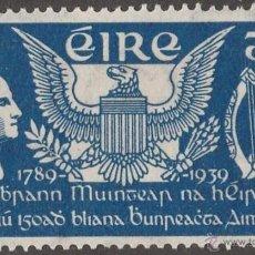 Sellos: IRLANDA 1939 ANIVERSARIO CONSTITUCION USA EN NUEVO LUJO MNH *** SC. Lote 49593088