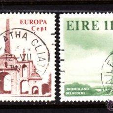 Sellos: IRLANDA 394/95 - AÑO 1978 - EUROPA - MONUMENTOS. Lote 49611870