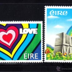 Sellos: IRLANDA 783/84** - AÑO 1992 - AMOR. Lote 49937121