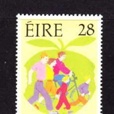 Sellos: IRLANDA 787** - AÑO 1992 - POR UNA VIDA SANA. Lote 49937205