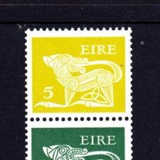 Sellos: IRLANDA 318AB** - AÑO 1975 - ANIMALES . Lote 50016065