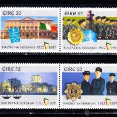 Sellos: IRLANDA 988/91** - AÑO 1997 - 75º ANIVERSARIO DEL ESTADO LIBRE DE IRLANDA. Lote 51451942