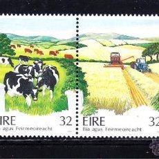Sellos: IRLANDA 809/12** - AÑO 1992 - PRODUCCION AGRICOLAS IRLANDESES. Lote 51516708