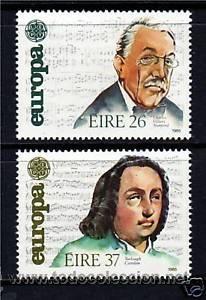 IRLANDA 1985 TEMA EUROPA SERIE NUEVO LUJO MNH *** SC (Sellos - Extranjero - Europa - Irlanda)