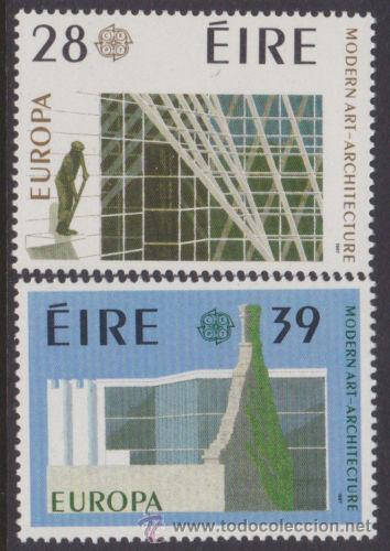 IRLANDA 1987 TEMA EUROPA SERIE NUEVO LUJO MNH *** SC (Sellos - Extranjero - Europa - Irlanda)