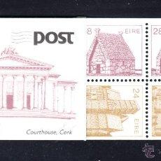Sellos: IRLANDA CARNET 571A** - AÑO 1988 - ARQUITECTURA IRLANDESA. Lote 53095567