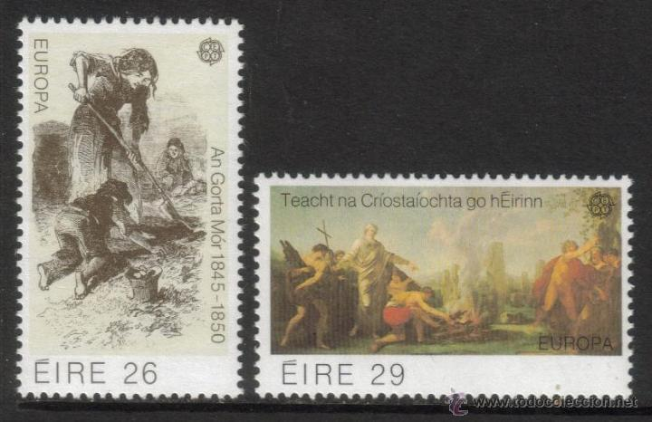 IRLANDA 1982 SERIE TEMA EUROPA NUEVO LUJO MNH *** SC (Sellos - Extranjero - Europa - Irlanda)