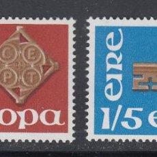 Sellos: IRLANDA 1968 SERIE TEMA EUROPA NUEVO LUJO MNH *** SC. Lote 53197266