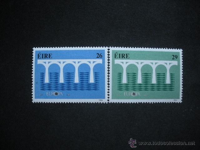 IRLANDA 1984 IVERT 541/2 *** EUROPA (Sellos - Extranjero - Europa - Irlanda)