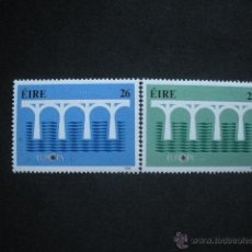 Sellos: IRLANDA 1984 IVERT 541/2 *** EUROPA. Lote 135110401