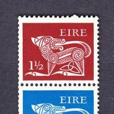 Sellos: IRLANDA 253B** - AÑO 1971- ANIMALES ESTILIZADOS. Lote 54384851