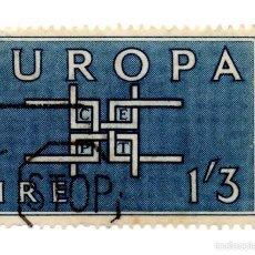 Sellos: IRLANDA 1963-N.167B- EUROPA-AZUL. Lote 55142440