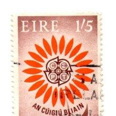 Sellos: IRLANDA 1964-N.175- EUROPA-NARANJA PARDUSCO. Lote 55142530