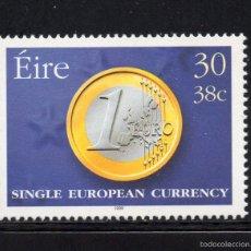 Sellos: IRLANDA 1148** - AÑO 1999 - EL EURO - MONEDA UNICA EUROPEA. Lote 56221286