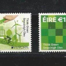 Sellos: IRELAND (EIRE) 2016 - EUROPA: THINK GREEN STAMP SET MNH. Lote 57543456