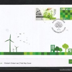 Sellos: IRELAND (EIRE) 2016 - EUROPA: THINK GREEN FDC - FIRST DAY COVER. Lote 57543478