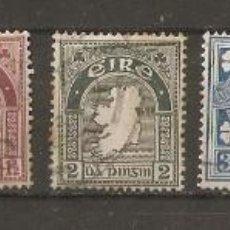 Sellos: IRLANDA. EIRE. 1923. YV. Nº 40,41,42,43,45,46,51.. Lote 57804520