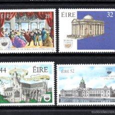 Sellos: IRLANDA 758/61** - AÑO 1991 - DUBLIN, CAPITAL EUROPEA DE LA CULTURA. Lote 58255905