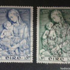 Sellos: SELLOS DE IRLANDA. YVERT 122/3. SERIE COMPLETA USADA.. Lote 63509412