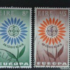 Sellos: SELLOS DE IRLANDA. YVERT 167/8. SERIE COMPLETA USADA. EUROPA CEPT.. Lote 63509635
