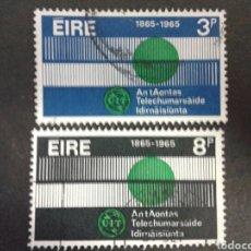 Sellos: SELLOS DE IRLANDA. YVERT 169/70 SERIE COMPLETA USADA.. Lote 63509699