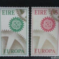 Sellos: SELLOS DE IRLANDA. YVERT 191/2. SERIE COMPLETA USADA. EUROPA CEPT.. Lote 63593822