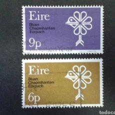 Sellos: SELLOS DE IRLANDA. YVERT 239/40. SERIE COMPLETA USADA. . Lote 63594040