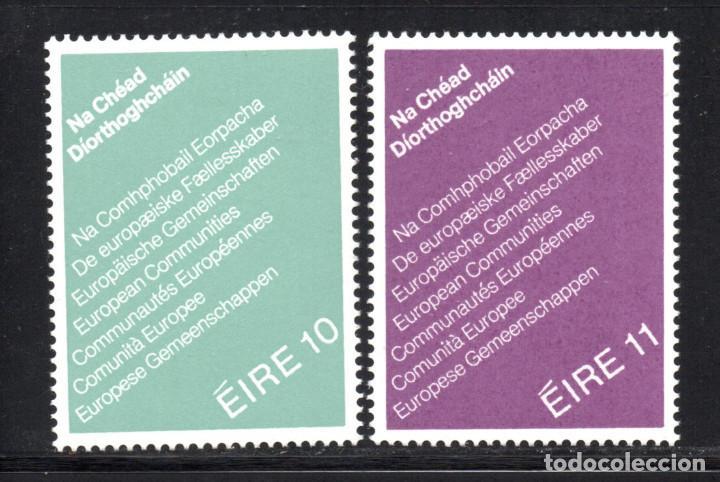 IRLANDA 396/97** - AÑO 1979 - ELECCIONES AL PARLAMENTO EUROPEO (Sellos - Extranjero - Europa - Irlanda)
