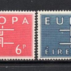 Sellos: IRLANDA 159/60* - AÑO 1963 - EUROPA. Lote 71227451