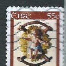 Sellos: IRLANDA,IRELAND,EIRE,2008,NAVIDAD,USADO. Lote 72743907