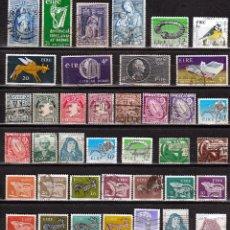 Sellos: IRLANDA LOTE 39 SELLOS DIFERENTES. *,MH (17-241). Lote 75708883