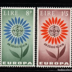 Sellos: IRLANDA 167/68* - AÑO 1964 - EUROPA. Lote 76930925