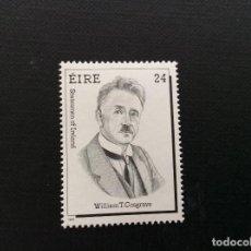 Francobolli: IRLANDA Nº YVERT 650*** AÑO 1988. POLITICOS IRLANDESES. WILLIAM T. COSGRAVE. Lote 79072681