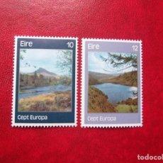 Sellos: IRLANDA 1977, YVERT 363-64, MNH-SC. Lote 88573376
