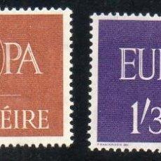 Sellos: IRLANDA AÑO 1960 YV 146/7** EUROPA. Lote 98800019