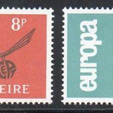 Sellos: IRLANDA AÑO 1965 YV 175/6** EUROPA - ÁRBOLES - NATURALEZA. Lote 98800763