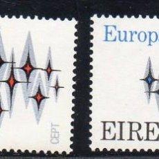 Sellos: IRLANDA AÑO 1972 YV 278/9** EUROPA. Lote 98801303